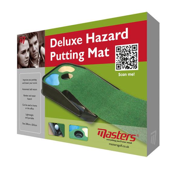 Deluxe Hazard Putting Mat