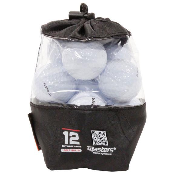Titanium 12 Ball Vinyl Bag