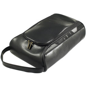 Leatherette Shoe Bag