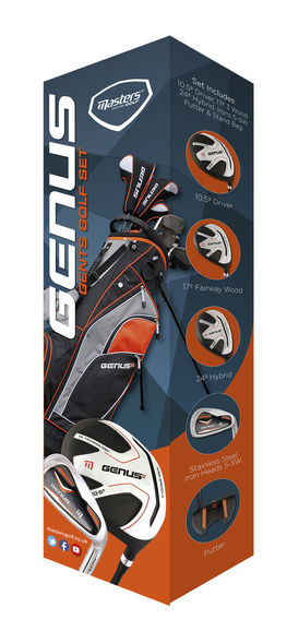 Genus Gents Club Pack with Stand Bag