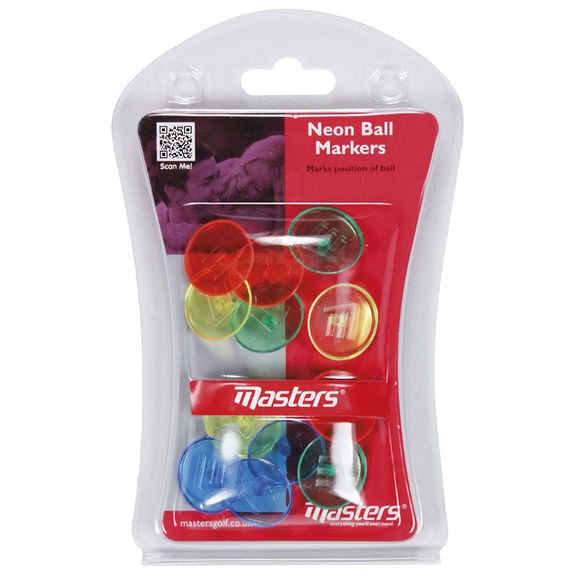 Neon Ball Markers X 12