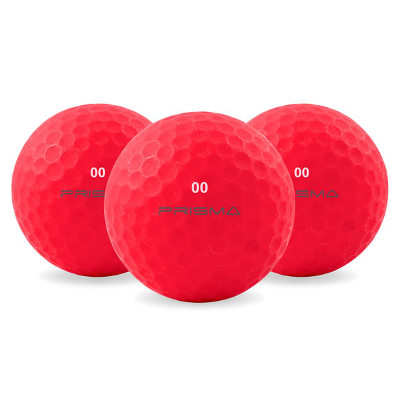 Prisma Fluoro Matt TI Golf Balls Bag 12