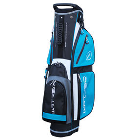 WRT750 Water Resistant Trolley Bag Black/White/Aqua