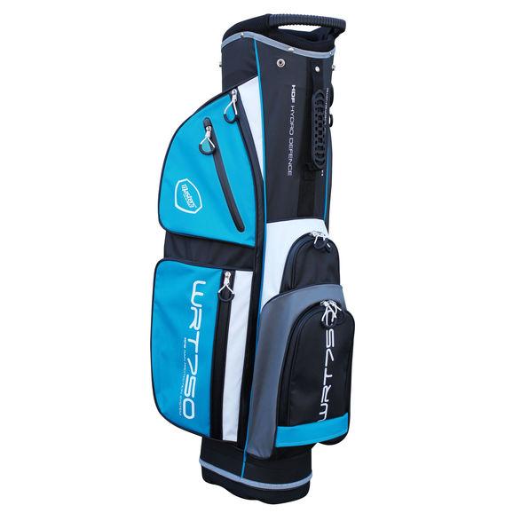WRT750 Water Resistant Trolley Bag Black/White/Aqua