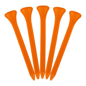 Plastic Tees 2 3/4 bag x 30 Orange