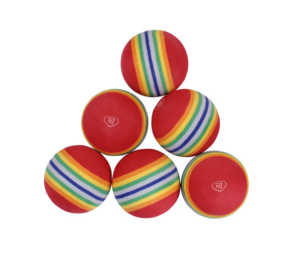Foam Practice Balls pack of 6