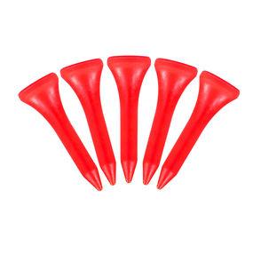 Plastic Tees 1 1/4 bag x 50 Red