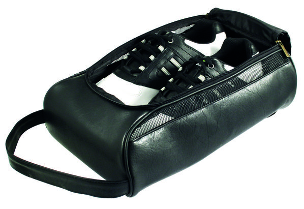 Leatherette Shoe Bag