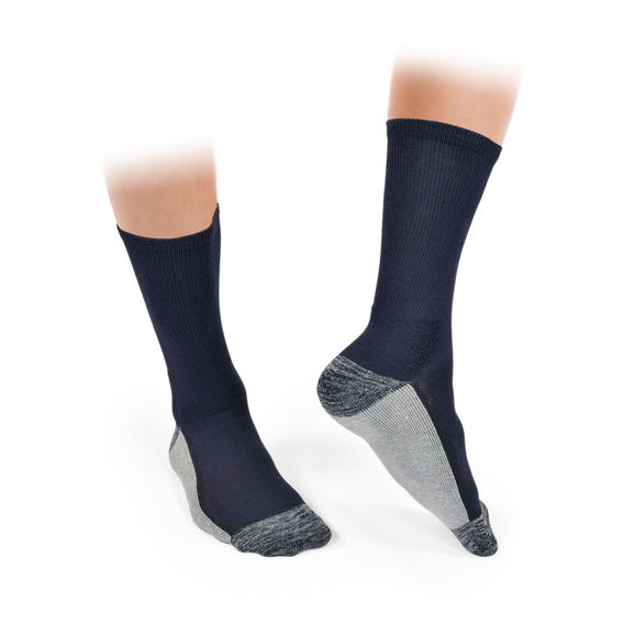 Gents Pack 3 Socks Navy