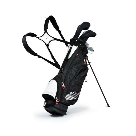 GX1 Gts RH Stl Clubpack S/Bag Blk/Grey