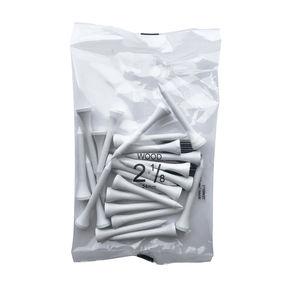 Wood Tees 2 1/8 White Bag 25